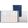 "Day-Timer Coastlines Folio Appointment Planner - Weekly - 1 Year - January till December - 7:00 AM to 10:00 PM, 7:00 AM to 6:00 PM - 1 Week Double Page Layout - 8"" x 11"" - Wire Bound - Blue - Paper -"