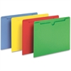 "Pendaflex Colored File Jacket - Letter - 8 1/2"" x 11"" Sheet Size - 50 Sheet Capacity - Assorted - 100 / Box"