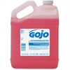 Gojo Antimicrobial Handwashing Lotion Soap - 1 gal (3.8 L) - Kill Germs - Hand - Pink - Antimicrobial, Triclosan-free - 1 Each