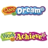 Trend Dare To Dream It Colorful Expressions Banner - 10 ft Height - Assorted