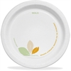 "Bare Paper Dinnerware 8-1/2"" Plates - 8.50"" Diameter Plate - Paper - Microwave Safe - Natural - 250 Piece(s) / Carton"