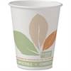 PLA-lined Disposable Hot Cups - 8 fl oz - 500 / Carton - White - Paper - Hot Drink