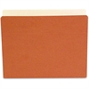 """SJ Paper Expandable Economy File Pockets - Letter - 8 1/2"""" x 11"""" Sheet Size - 5 1/4"""" Expansion - 1 Pocket(s) - Straight Tab Cut - 22 pt. Folder Thickness - Manila - Red Fiber - Recycled - 10 / Box"""