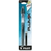 Plumix Fountain Pen - Medium Point Type - 0.58 mm Point Size - Refillable - Black - Black Barrel - 1 Each