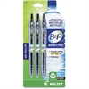 Bottle to Pen (B2P) Fine Point Retractable Gel Pens - Fine Point Type - Refillable - Black Gel-based Ink - Plastic Barrel - 3 / Pack