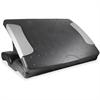 Kantek Professional Height Adjustable Footrest - Adjustable Height, Ergonomic Design, Comfortable, Adjustable Tilt Angle - Black