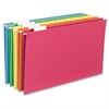 "Sparco Hanging Folder - Legal - 8 1/2"" x 14"" Sheet Size - 1/5 Tab Cut - Top Tab Location - Assorted - 25 / Box"
