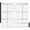 "Day-Timer Dated Calendar Refill - Julian - Weekly - 1 Year - January 2017 till December 2017 - 8:00 AM to 6:00 PM - 1 Week Double Page Layout - 3.74"" x 6.77"" - Tabbed, Task List, Appointment Schedule,"