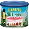 Planters Planters Heart Healthy Mix - Resealable Container - Almond, Pecan, Hazelnut, Pistachio, Peanut, Walnut - 9.75 oz - 1 Each
