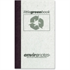 "Roaring Spring Environotes Little Green Memo Book - 60 Sheet(s) - Tape Bound - 5"" x 3"" Sheet Size - Mist Gray Cover - Recycled - 1 Each"