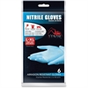 Medline Venom Work Glove - X-Large Size - Nitrile - Blue - Textured Fingertip, Latex-free, Abrasion Resistant, Powder-free, Tear Resistant, Puncture Resistant, Non-sterile - For Material Handling - 6