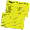 Tabbies Emergency Information Card - 25 / Pack