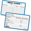Tabbies Medical Information Card - 25 / Pack