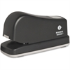 "Business Source Electric Stapler - 16 Sheets Capacity - 105 Staple Capacity - Half Strip - 1/4"" Staple Size - Putty"