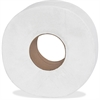 "Genuine Joe Embossed Jumbo Roll Bath Tissue - 2 Ply - 3.50"" x 1000 ft - 9"" Roll Diameter - White - Nonperforated, Fragrance-free - For Restroom, Washroom - 8 / Carton"