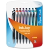 Paper Mate Inkjoy 550RT Ballpoint Pen - Medium Point Type - 1 mm Point Size - Point Point Style - Refillable - Assorted - Assorted Barrel - 8 / Pack