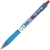 Bottle to Pen (B2P) Ballpoint Pen - Fine Point Type - 0.7 mm Point Size - Refillable - Red Gel-based Ink - Plastic Barrel - 1 Dozen