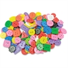 Roylco Bright Color Craft Buttons - 1 Pack - Assorted