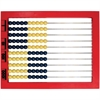 Learning Resources 2-Color Desktop Abacus - Theme/Subject: Learning - Skill Learning: Counting, Visual, Addition, Subtraction, Multiplication, Place Value, Mathematics