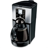 Mr. Coffee FTX41 Brewer - Programmable - 12 Cup(s) - Coffee Strength Setting - Black, Gray, Stainless Steel - Metal, Plastic