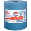 "Wypall X80 Wipers - 12.50"" x 13.40"" - 475 Sheets/Roll - Blue - Cloth - Reusable, Eco-friendly, Absorbent, Durable - For Industry - 1 / Each"