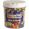 ChenilleKraft Dial-A-Bead Jar Assortment - 900 Piece(s) - 900 / Each - Assorted