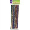 ChenilleKraft Jumbo Sparkly Stem Pipe Cleaners - 236.2 mil - 1000 / Box - Assorted - Polyester