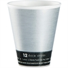 Dart ThermoThin Disposable Cups - 12 fl oz - 1000 / Carton - Silver, Black - Hot Drink, Cold Drink, Beverage