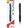 Pentel Twist-Erase III Mechanical Pencil - HB, #2 Lead Degree (Hardness) - 0.9 mm Lead Diameter - Refillable - Black Lead - Black Barrel - 1 / Pack