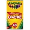 Crayola Crayon - Assorted - 48 / Box