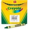Crayola Bulk Crayons - Green - 12 / Box