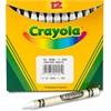 Crayola Bulk Crayons - White - 12 / Box