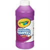 Crayola Artista II Tempera Paints - 16 oz - 1 Each - Violet