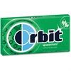 Orbit Flavored Sugar-free Gum - Spearmint - Sugar-free, Individually Wrapped - 12 / Box