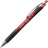 Paper Mate InkJoy 550 RT Ballpoint Pen - Medium Point Type - 1 mm Point Size - Refillable - Red - Red Barrel - 1 Each