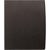 "GBC® Designer Two Pocket Folder - Letter - 8 1/2"" x 11"" Sheet Size - 60 Sheet Capacity - 2 Pocket(s) - Black - 5 / Pack"