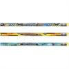 Moon Products Race To Success No. 2 Pencil - #2, HB Lead Degree (Hardness) - 2.1 mm Lead Diameter - Black Lead - Assorted Wood Barrel - 1 Dozen