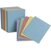 "TOPS Color Mini Index Cards - 200 x Divider(s) - 2.50"" Divider Width x 3"" Divider Length - White Divider - 200 / Pack"