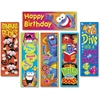 Trend Clever Characters Bookmark Combo Packs - Wild for Books (Furry Friends), I met my Goal! (Furry Friends), Read it! Read it! Read it! (Frog-tastic!), Happy Birthday (Frog-tastic!), Dive into a goo