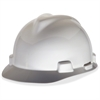 MSA Large Size V-Gard Hard Had - Large Size - Head Protection - Polyethylene Shell - 1 Each - White