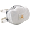 3M Disposable N100 Particulate Respirator - Particulate Protection - Foam Face Seal - White - 1 / Each