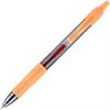G2 G2-7 Retractable Gel Roller Pen - Fine Point Type - 0.7 mm Point Size - Refillable - Orange Gel-based Ink - Translucent Barrel - 1 Dozen