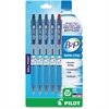 Bottle to Pen (B2P) Recycled Retractable Ballpoint Pens - Fine Point Type - Refillable - Assorted - 5 / Pack
