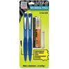 Zebra Pen Z TAP Mechanical Pencil - 2HB Lead Degree (Hardness) - 0.7 mm Lead Diameter - Refillable - Black Lead - Blue Barrel - 2 / Each