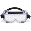 3M Centurion Chemical Splash Goggles - Fog, Splash, Ultraviolet, Impact Protection - Polycarbonate Lens, Neoprene Strap - Clear - 1 Each