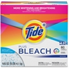 Tide Bleach Powder Detergent - Powder - 144 oz (9 lb) - Original Scent - 1 / Box - White
