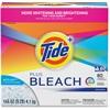 Tide Bleach Powder Detergent - Powder - 144 oz (9 lb) - Original Scent - 1 / Box - White