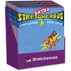 CLI Extra Stretcheroos Book Cover Display - Supports Book - Flexible, Stretchable - Fabric - Assorted - 36