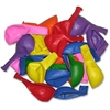 "Tatco Helium-quality Latex Balloon - 12"" Diameter - Assorted - Latex - 100 / Pack"