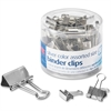 OIC Assorted Size Binder Clips - 30 Pack - Silver - Metal